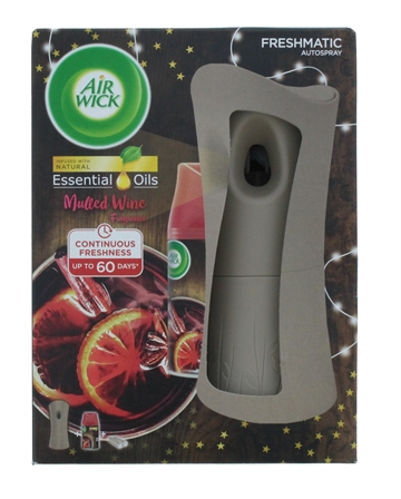 Airwick Freshmatic Max Set 2Pc Life Scents Mulled Wine