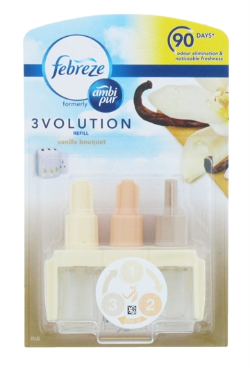 Ambi Pur 3Volution 20ml Electric Refill Vanilla Bouquet