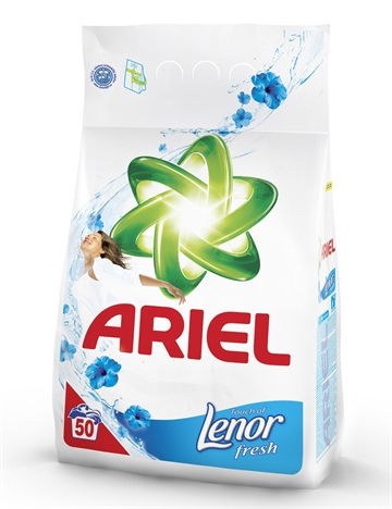 Ariel Washing Powder 50W 3.74Kg Lenor