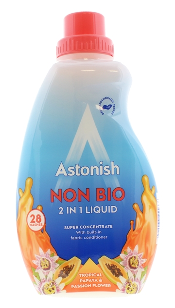 Astonish 840ml Non Bio Liquid Papaya & Passion Flower