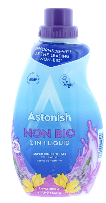Astonish 840ml Non Bio Liquid Lavender & Ylang Ylang