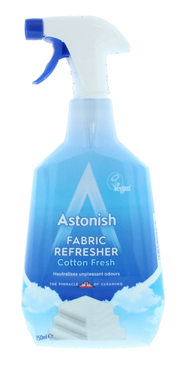 Astonish 750ml Fabric Refresher Cotton Fresh