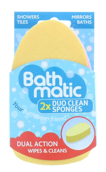 Bathmatic Clean Sponge Duo