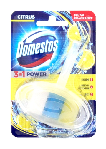 Domestos 40G Power Toilet Block Citrus