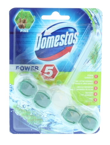 Domestos 55G Power Toilet Block Pine