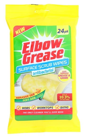 Elbow Grease Multi Purpose Wipes 24Pk