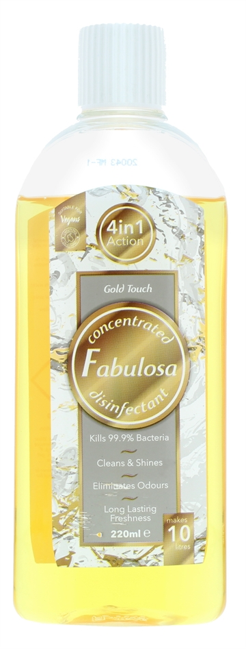 Fabulosa 220ml Disinfectant Gold Touch