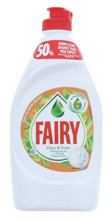 Fairy Orange Lab Dishwashing 450ml