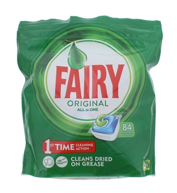 FAIRY TABS 84'S DISHWASHER ORIGINAL