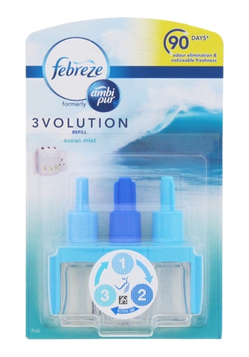 Febreze 3Volution 20ml Refill Ocean Mist