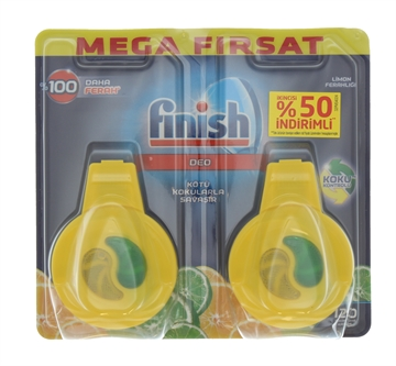 FINISH FRESH DUO LEMON LAB DISHWASHER 4ML