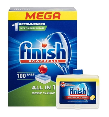 Finish Cleaner Dishwasher 250ml