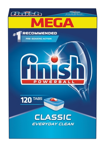 Finish Powerball Classic 120'S En Label
