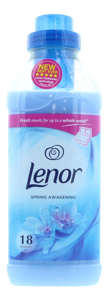 Lenor 630ml Fabric Conditioner Spring 18 Wash