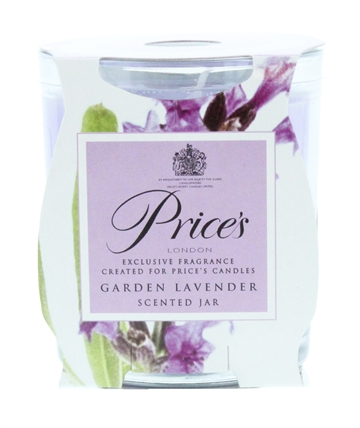 Prices'S 130G Candle Jar Garden Lavender
