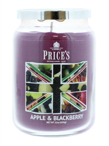 Price'S 630G Candle Large Jar Apple & Blackberry