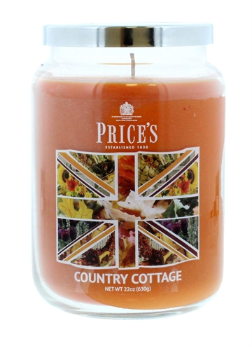 Price'S 630G Candle Large Jar Country Cottage