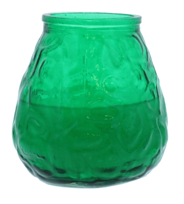 Price'S 371G  Candle Green Glo Lites