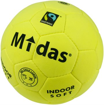 Midas Indoor Soft Fairtrade