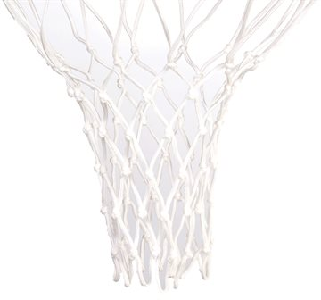 Basketballnet flettet nylon