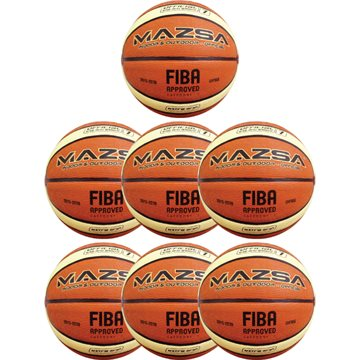 Mazsa FIBA basketballpakke 7 stk