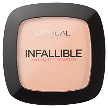 L'Oreal  INFALLIBLE 24H - MATTE POWDER 160 SAND BEIGE 9G