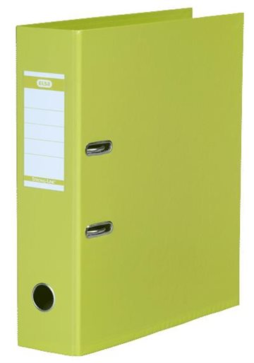 Brevordner A4 Elba Lime 80Mm Strong-Line Pvc-Fri