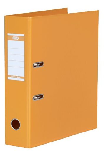 Brevordner A4 Elba Orange 80Mm Strong-Line Pvc-Fri