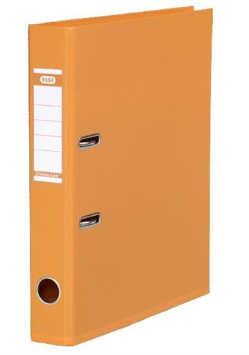 Brevordner A4 Elba Orange 50Mm Strong-Line Pvc-Fri