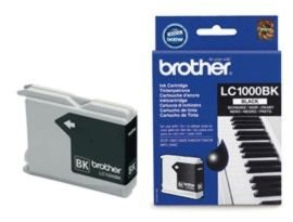 Brother LC1000BK Sort Blækpatron, 500 sider