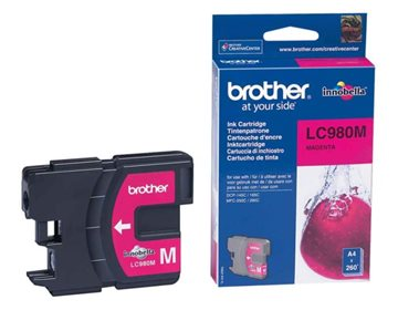 Brother LC980M Magenta Blækpatron, 260 sider