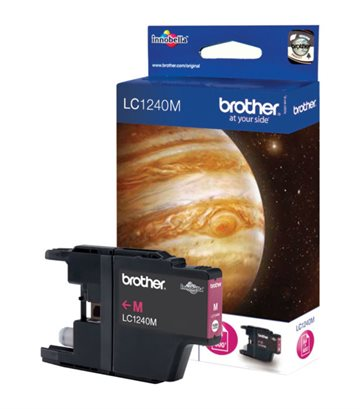 Brother LC1240M Magenta Blækpatron, 600 sider