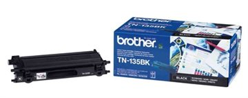 Brother TN-135BK Sort Lasertoner, 5.000 sider