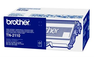 Brother TN-2110 Sort Lasertoner, 1.500 sider