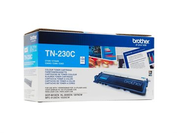 Brother TN-230C Cyan Lasertoner, 1.400 sider