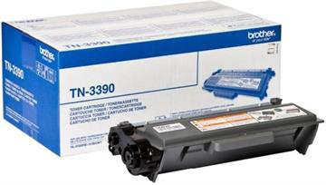 Brother TN-3390 Sort Lasertoner, 12.000 sider
