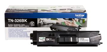 Brother TN-326BK Sort Lasertoner, 4.000 sider