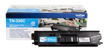 Brother TN-326C Cyan Lasertoner, 3.500 sider