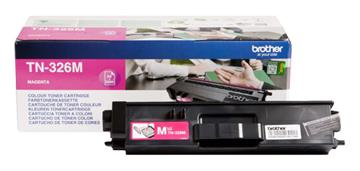 Brother TN-326M Magenta Lasertoner, 3.500 sider