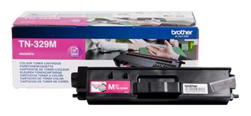 Brother TN329M Magenta Lasertoner, 6.000 sider