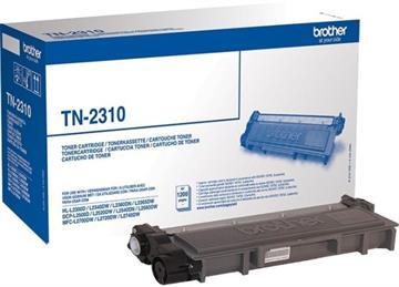 Brother TN-2310 Sort Lasertoner, 1.200 sider