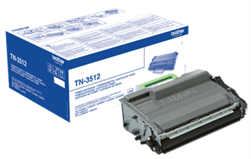 Brother TN-3512 Sort Lasertoner, 12.000 sider