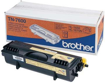 Brother TN-7600 Sort Lasertoner, 6.000 sider
