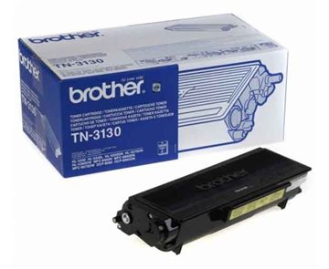 Brother TN-3130 Sort Lasertoner, 3.500 sider