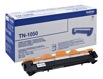 Brother TN-1050 Sort Lasertoner, 1.000 sider