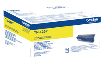 Brother TN-426Y Gul Lasertoner, 6.500 sider