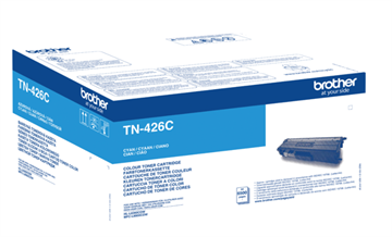 Brother TN-426C Cyan Lasertoner, 6.500 sider