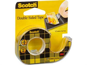 Dobbelt.Kl. Tape 3M 6,3Mx12Mm