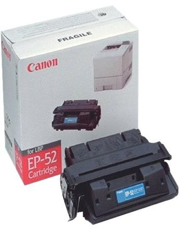 Canon EP-52 3839A003AA Sort Lasertoner, 10.000 sider