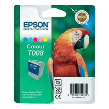 Epson T008 C13T00840110 C/M/Y/LC/LM Multipakke, 220 sider
